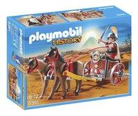 Playmobil History 5391 Char romain avec tribun-Avant