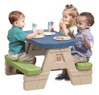 Step 2 table de pique-nique pour enfants Sit and Play avec parasol-Image 2