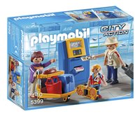 Playmobil City Action 5399 Vakantiegangers aan incheckbalie