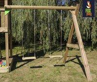 Fox play schommel Riverside met gele glijbaan-Artikeldetail