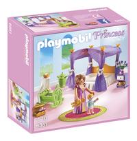 Playmobil Princess 6851 Chambre de la reine avec lit à baldaquin-Avant