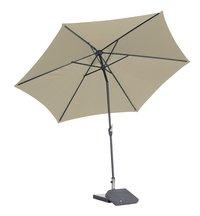 Aluminium parasol diameter 3 m zand