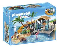 Playmobil Family Fun 6979 Île avec vacanciers