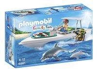 Playmobil Family Fun 6981 Bateau de plongée-Avant