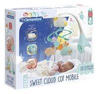 baby Clementoni mobile musical Nuage & animaux-Côté gauche