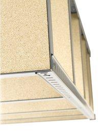 Avasco Étagère de rangement Strong Cube métal/aspect bois-Détail de l'article