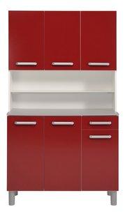 Parisot armoire de cuisine Glossy rouge-Avant