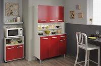 Parisot armoire de cuisine Glossy rouge-Image 1