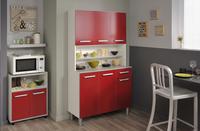 Parisot Keukenkast Glossy rood-Afbeelding 1