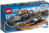 LEGO City 60085 Le 4x4 avec hors-bord-commercieel beeld