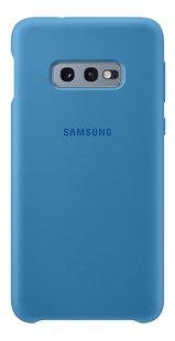 Samsung cover van silicone voor Samsung Galaxy S10e blauw-Achteraanzicht