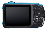Fujifilm digitaal fototoestel FinePix XP 140 blauw-Achteraanzicht
