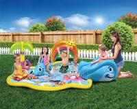 Banzai Jr. opblaasbaar speelcenter Splish Splash Water Park-Afbeelding 1