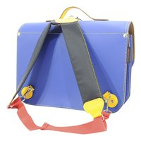 # Own Stuff cartable Cobalt/Yellow 38 cm-Arrière