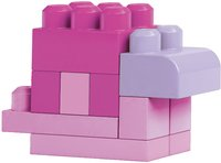 Mega Bloks First Builders Big Building Bag roze-Afbeelding 3
