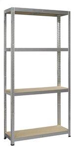 Avasco Opbergrek Strong 200 metaal/houtlook-Vooraanzicht