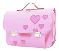 # Own Stuff boekentas Heart Pink 38 cm