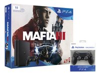 PS4 Slim console 1 TB +  Mafia 3 ENG/FR + 1 extra controller