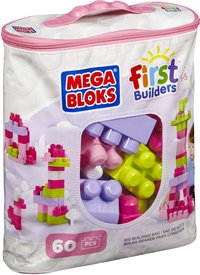Mega Bloks First Builders Big Building Bag roze-Rechterzijde