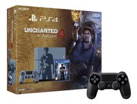 Sony PS4 console 1TB Special Edition + Uncharted 4 A thief's end ENG/FR + 1 extra controller