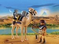 Playmobil History 5389 Combattant égyptien avec dromadaire -Image 1
