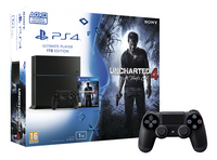 Sony PS4 console 1TB + Uncharted 4 A Thief's End ENG/FR + 1 extra controller