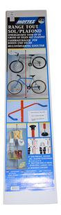 Mottez Fietsenrek met telescopische paal voor 2 fietsen-Vooraanzicht