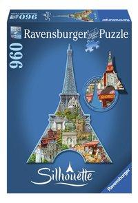 Ravensburger puzzle Silhouette Tour Eiffel, Paris