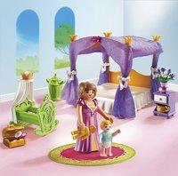 Playmobil Princess 6851 Koninklijke slaapkamer met hemelbed-Afbeelding 1