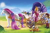 Playmobil Princess 6856 Koninklijke koets met paard om te kammen-Afbeelding 1