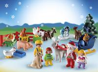 Playmobil Christmas 9009 Calendrier de l'Avent 1.2.3 Noël à la ferme-Image 1
