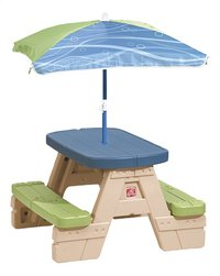 Step 2 table de pique-nique pour enfants Sit and Play avec parasol-Avant
