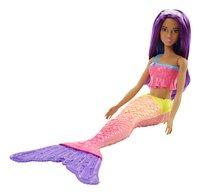 Barbie mannequinpop Dreamtopia Zeemeermin met paars haar-Artikeldetail