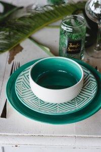 Cosy & Trendy 6 kommetjes Invertida Ø 13,5 cm groen-Afbeelding 3