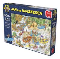 Jumbo puzzle Jan Van Haasteren Rafting extrême