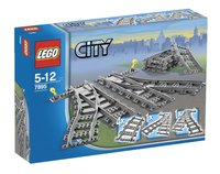 LEGO City 7895 Les aiguillages-Avant