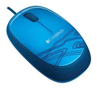 Logitech muis M105 blauw-Linkerzijde
