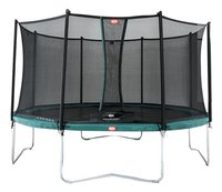 Berg trampolineset Favorit Ø 3,30 m Green-Vooraanzicht