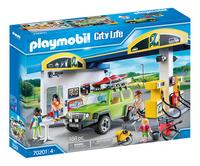 PLAYMOBIL City Life 70201 Station service-Côté gauche