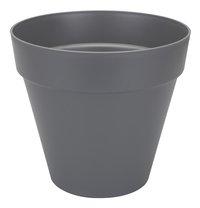 Elho pot Loft Urban round anthracite diamètre 40 cm