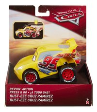 Auto Disney Cars 3 Revvin' action Rust-eze Cruz Ramirez-Vooraanzicht