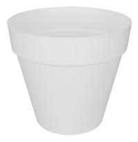 Elho pot Loft Urban round blanc diamètre 40 cm