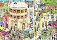 Jumbo puzzle Jan Van Haasteren L'évasion-Avant