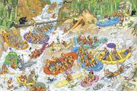 Jumbo puzzle Jan Van Haasteren Rafting extrême-Avant