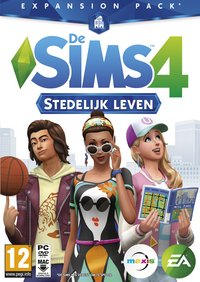 PC Les Sims 4 : Pack d'extension : Vie Citadine ANG