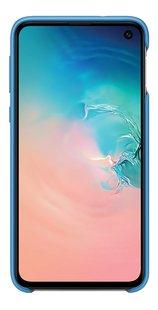 Samsung cover van silicone voor Samsung Galaxy S10e blauw-Vooraanzicht