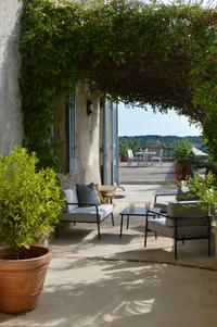 Arcane loungeset Olefin Charcoal-commercieel beeld