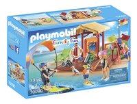 PLAYMOBIL Family Fun 70090 Watersportschool-Linkerzijde