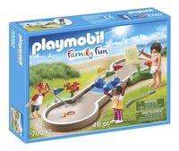 PLAYMOBIL Family Fun 70092 Mini-golf-Côté gauche