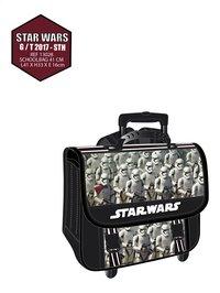 Trolley-boekentas Star Wars Stormtrooper zwart 41 cm